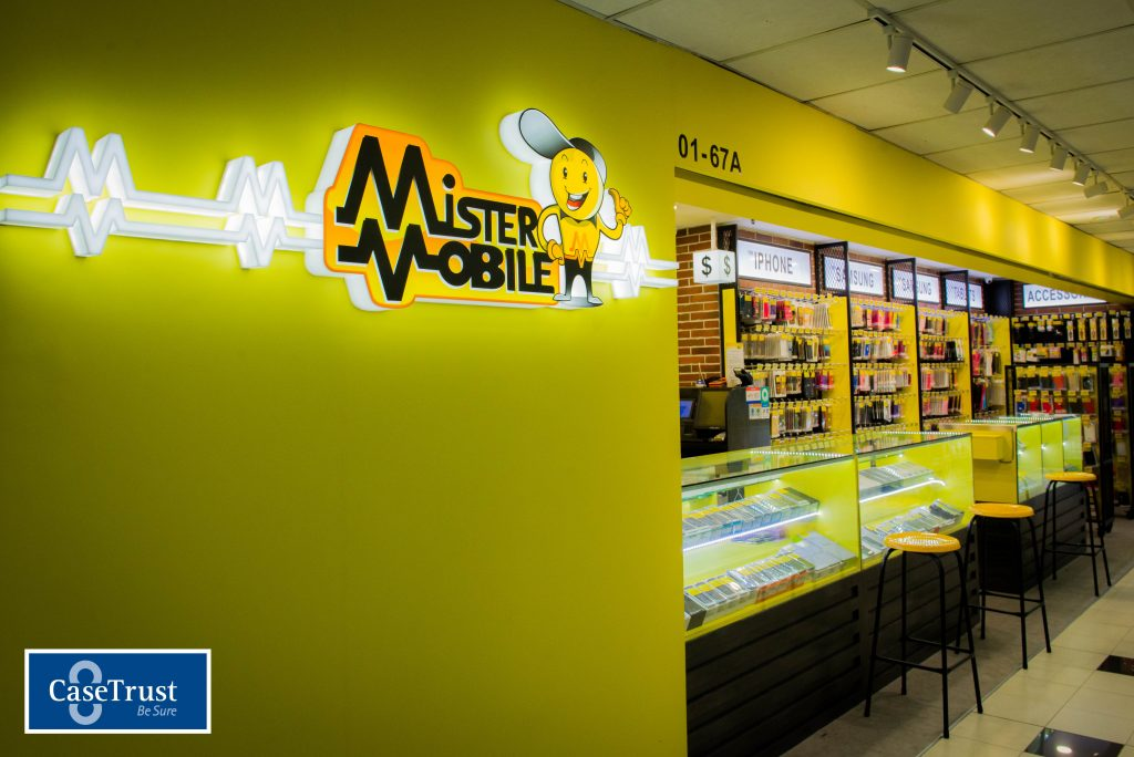 Mister Mobile Shop Logo Singapore