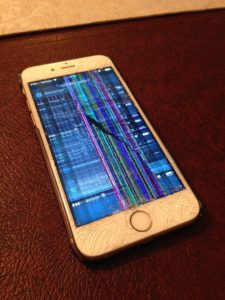 iphone 6s lcd crack