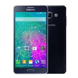 Samsung A7 crack screen replacement Singapore