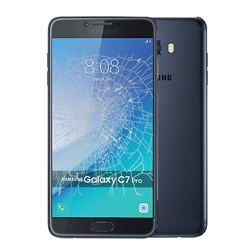 Samsung C7 Pro crack screen replacement Singapore