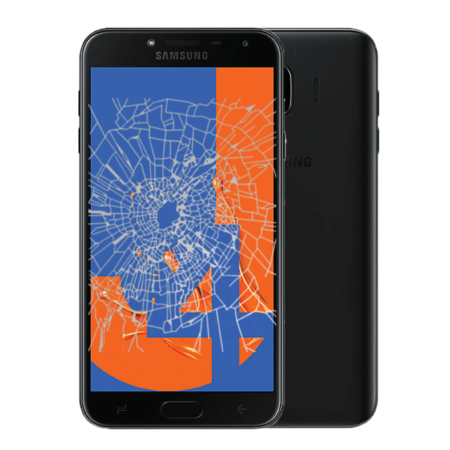 Samsung J4 crack screen replacement Singapore