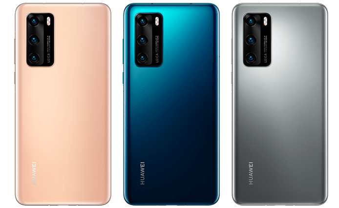 Huawei P40 All Colors