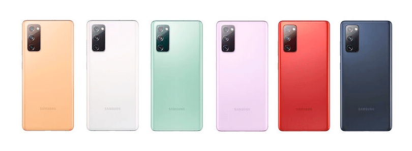 Samsung S20 FE colors