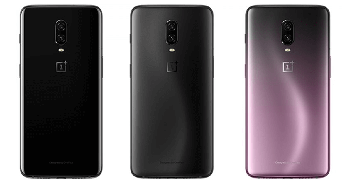 OnePlus 6T Colors