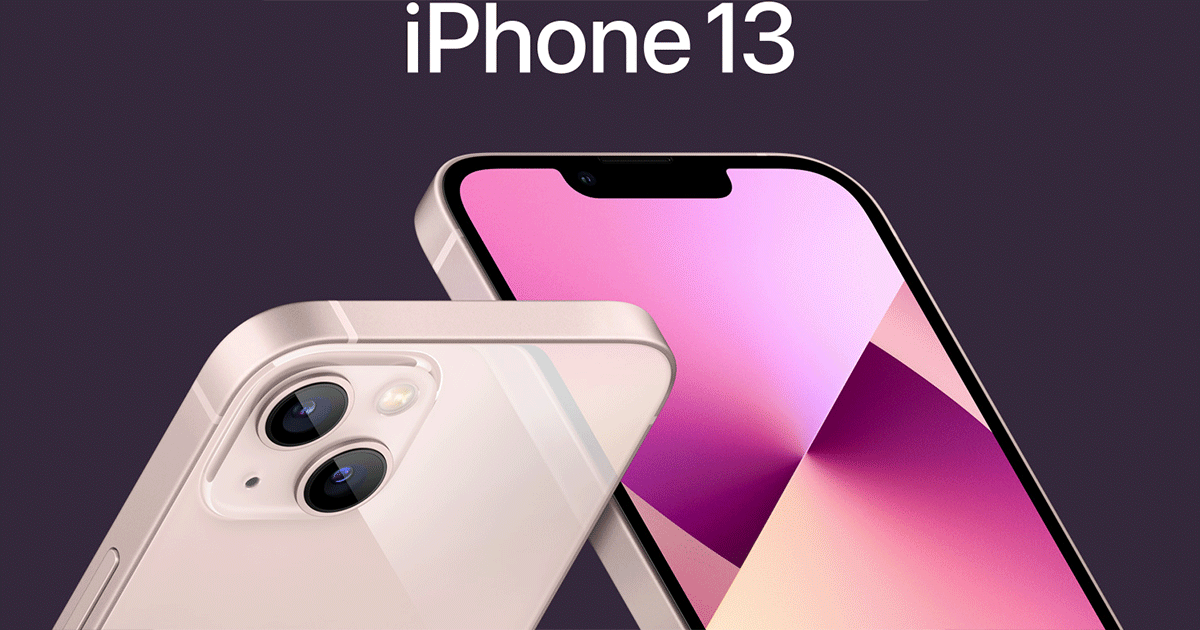 iPhone 13 Banner
